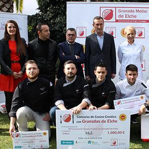 podio concurso Granada Elche