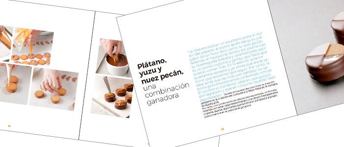 interiores del libro recopilatorio de la tercera edición del Premio a la Mejor Pasta de Té