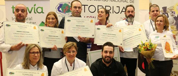 ganadores concurso nacional Torrijas