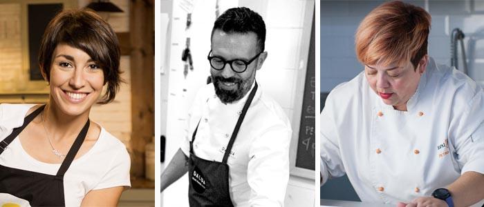 Alma Obregón, Daniel Álvarez y Betina Montagne son los chefs pasteleros a esta edición de la Trenza de Almudévar
