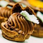 El choux de chocolate, café y apio