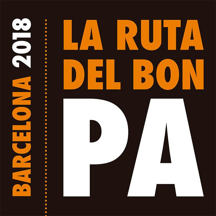 cartel ruta del buen pan bcn 2018