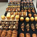 buffet bollería Bachour en The Bakery Lab