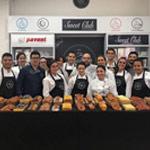 Foto grupo clase bollería Bachour en The Bakery Lab
