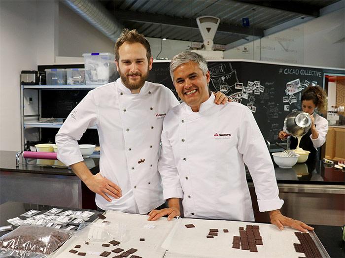 Enric Monzonis y Nando Jubany