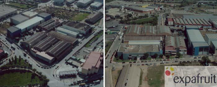 plantas de fabricación de Expafruit, recientemente adquirida por IGH
