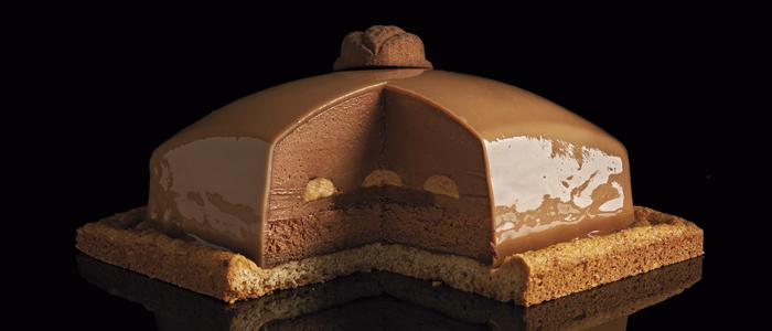Luciano García Bretona de nuez al caramelo y chocolate