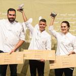 tres clasificados Campeonato Regional Absoluto de Pastelería de Canarias