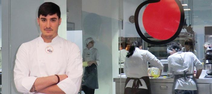 Pedro García Coy en la Escuela de Pastelería de Valencia
