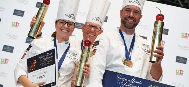 suecia gana European Pastry Cup