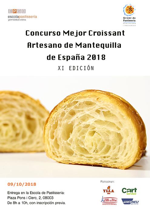 cartel concurso croissant 2018