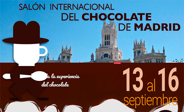 cartel Salón Internacional de Chocolate de Madrid