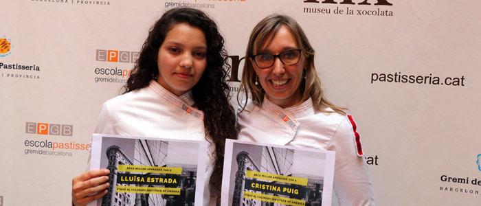 Lluïsa Estrada y Cristina Puig de la EPGB