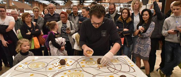 masterclass Salon du Chocolat Paris