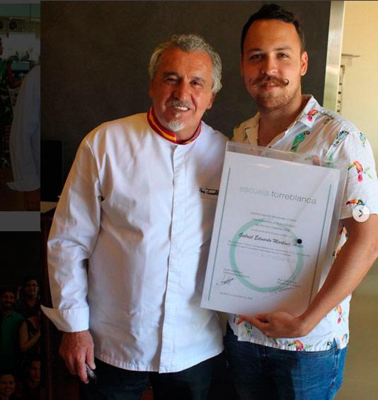 Paco Torreblanca entrega de diplomas