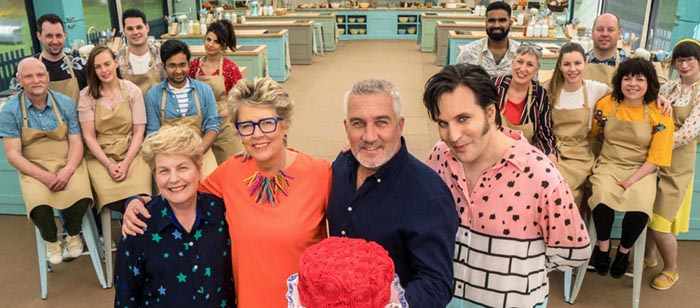 great british bake off oficial