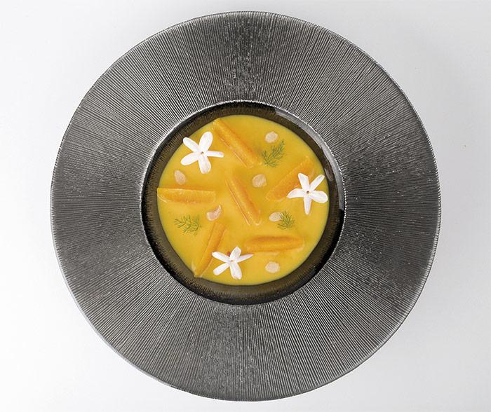 cremoso de mandarina