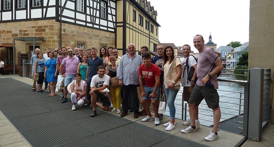 visitando la localidad de Bamberg, Ireks