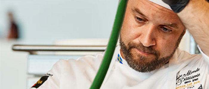 Martin Morand, miembro del equipo sueco, ganador de la European Pastry Cup