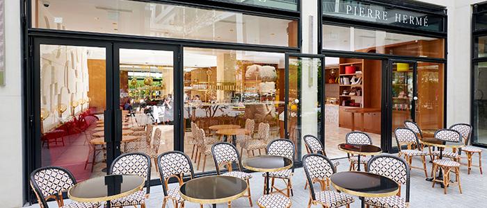 exterior café pierre hermé