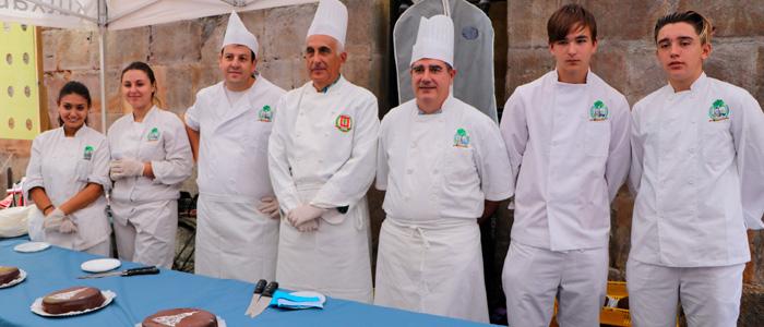 Pasteleros de Bizkaia virgen Begoña