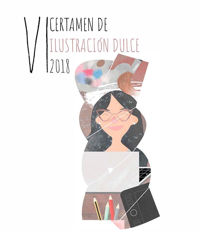 cartel ilustracion dulce tolosana