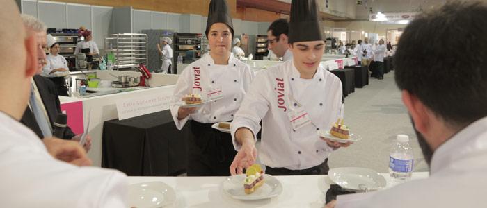 concursantes estudiantes de pastelería 2017