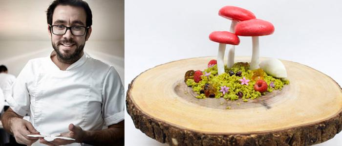 Jesús Escalera ganador del Latin America's Best Pastry Chef Award 2018