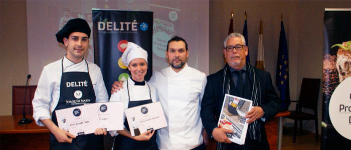 Ganadores de la primera edición del concurso Delité