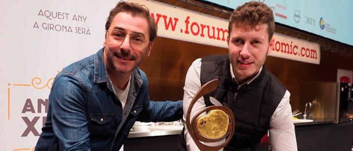 Jordi Roca y Ricard Jambert ganador del concurso al mejor xuixo