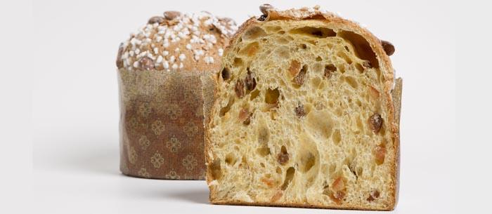 Panettone de la pastelería Ochiai