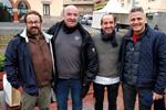 Carles Mampel, Toni Gómez, Salvador Pla y Eugeni Muñoz