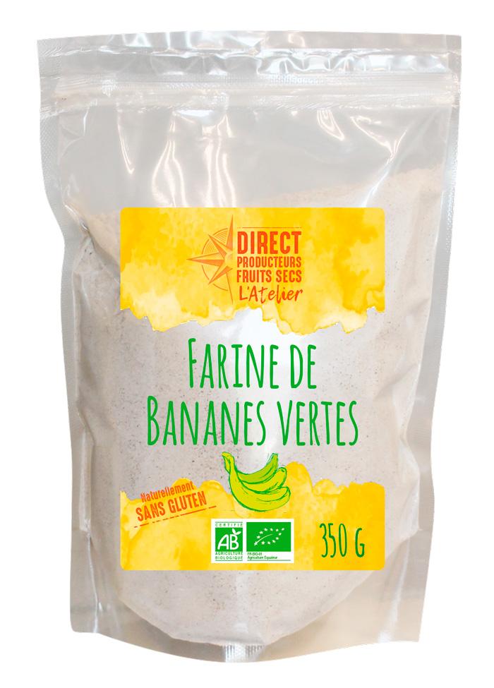 Harina orgánica de plátano verde por Agro Sourcing