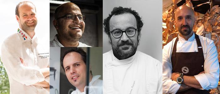 Collage de los ponentes de la Master Class