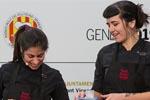 Sara Pennachio y Cris Massana acercaron la pastelería vegana de Toni Rodriguez
