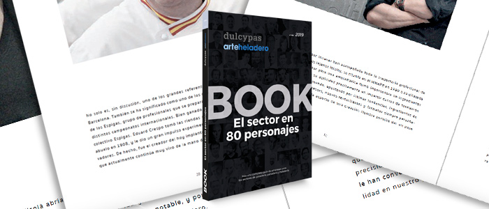 Descubre el sector con 80 personajes clave en Dulcypas Book 2019