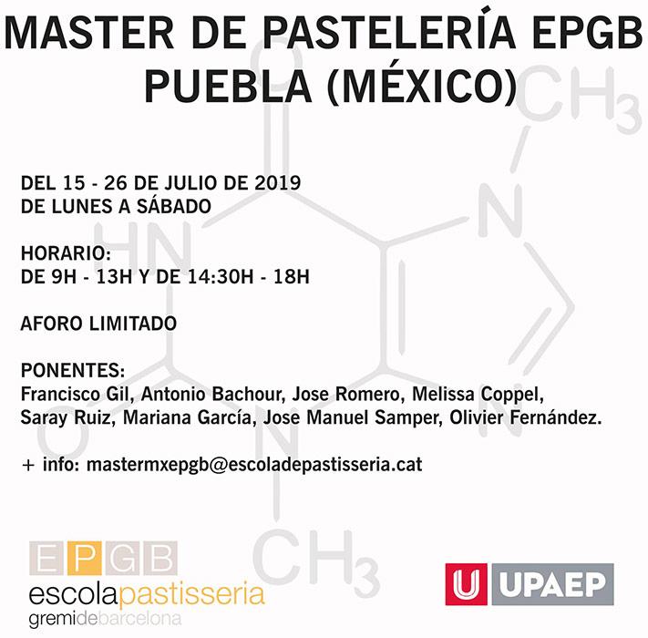 cartel master EPGB México
