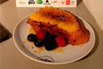 Torrija sin gluten de la pastelería La Oriental