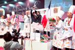 Entrega de premios del Mundial de figuras de azúcar