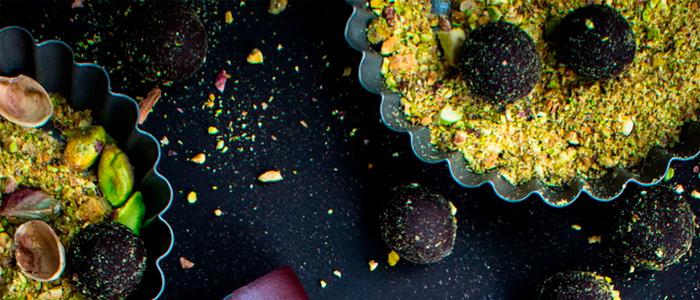 Bombones de pistacho
