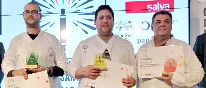 Ganadores del concurso de la mejor coca de San Juan