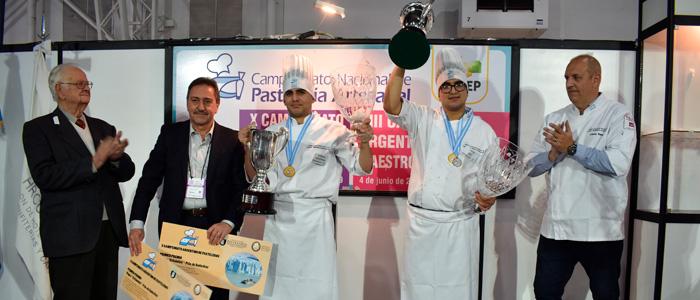 Ganadores del  X Campeonato Argentino de Pasteleros