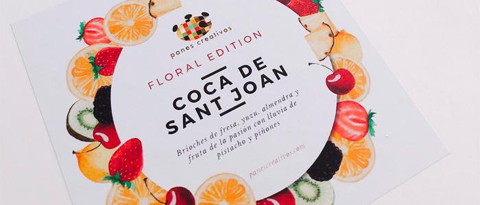 Diseño de la caja de la coca floral de Daniel Jordà