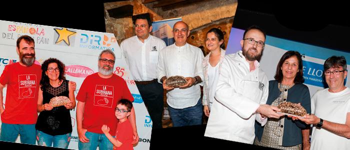 Ganadores de las ediciones de Baleares, Murcia y Valencia