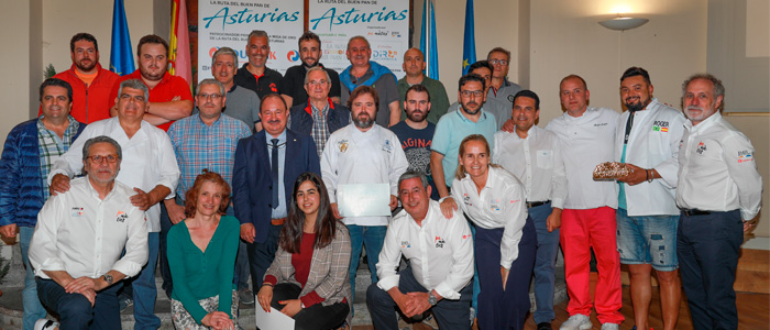 Todos los participantes en la Miga de Oro de Asturias