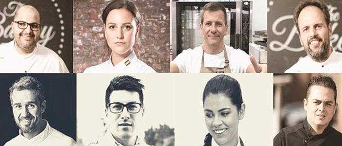 Chefs participantes en el Bakery-Con Colombia