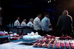 Mesa redonda con todos los chefs participantes