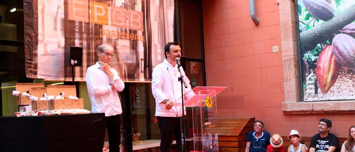Olivier Martínez en un acto de la EPGB