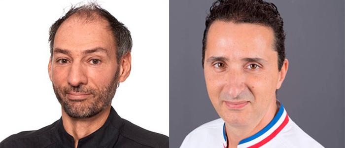 Franck Colombié y Thierry Bamas