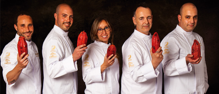 Los embajadores de Belcolade en España